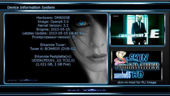 Satvenus Backup by mamba65 dm800se