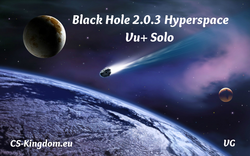 Black Hole 2.0.3 Hyperspace Vu+ Solo Backup by VanGerwen