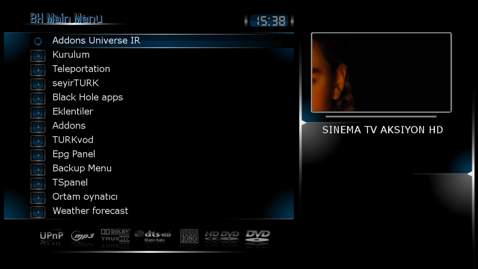 Black Hole Vu+ Solo2 2.0.3 Hyperspace  Backup By AYBERK 16.05.2013