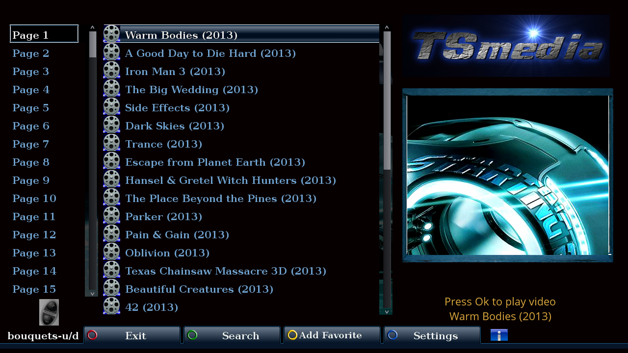 ���� TSmedia enigma2 plugin 2.2