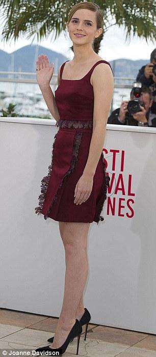 ��� ���� ������ �� ������ ��� 2013 - Emma Watson at Cannes 2013