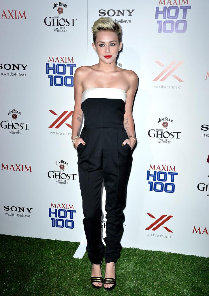 ��� ����� ������ �� ��� Maxim Hot 100 Party
