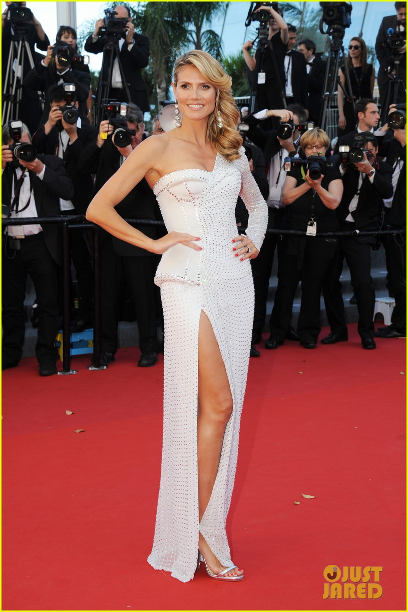 ��� ����� ���� �� ������ ��� 2013 - Heidi Klum In Cannes 2013