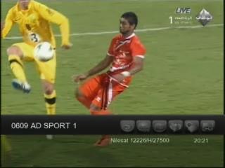 تردد قناة ابو ظبي الرياضية Abu Dhabi Sports 1 علي النايل سات