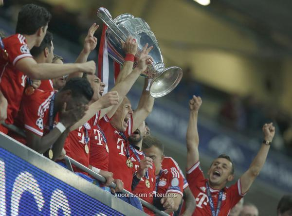 Pictures Bayern Munich win the Champions League 2013