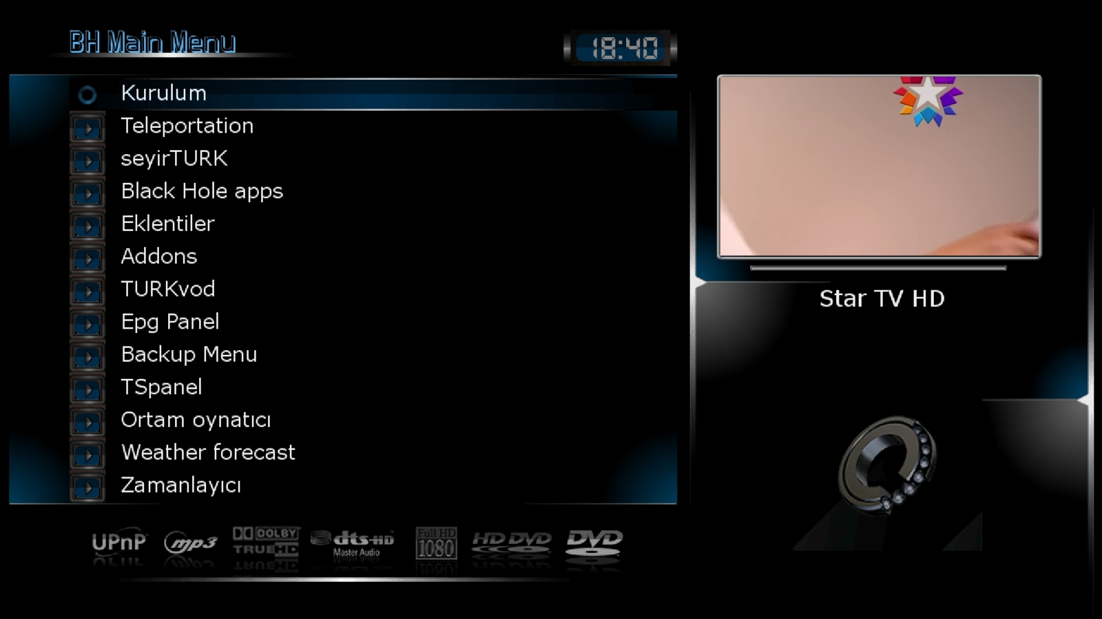 Black Hole Vu+ Ultimo 2.0.3 Hyperspace Backup By AYBERK 27.05.2013