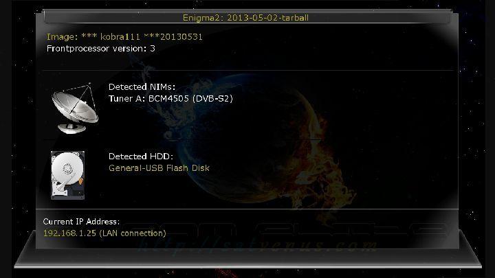 SatVenus GP3 dm800se 31-05-2013 OE 2.0 kobra