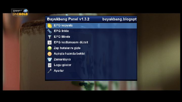 DM8000 Experimental Image GP3.2 Backup By AYBERK 31.05.2013