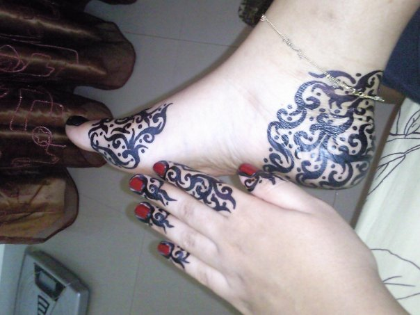 ��� ������ ��� ������� ������� , Sudanese Henna
