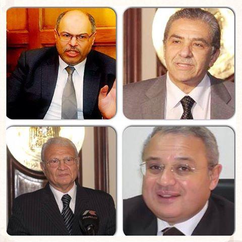 اسماء الوزراء المستقيلين من حكومة قنديل بعد مظاهرات 30 يونيه