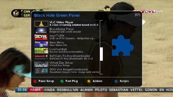 Black Hole Vu+ Solo2 2.0.4 Backup By AYBERK 05.07.2013