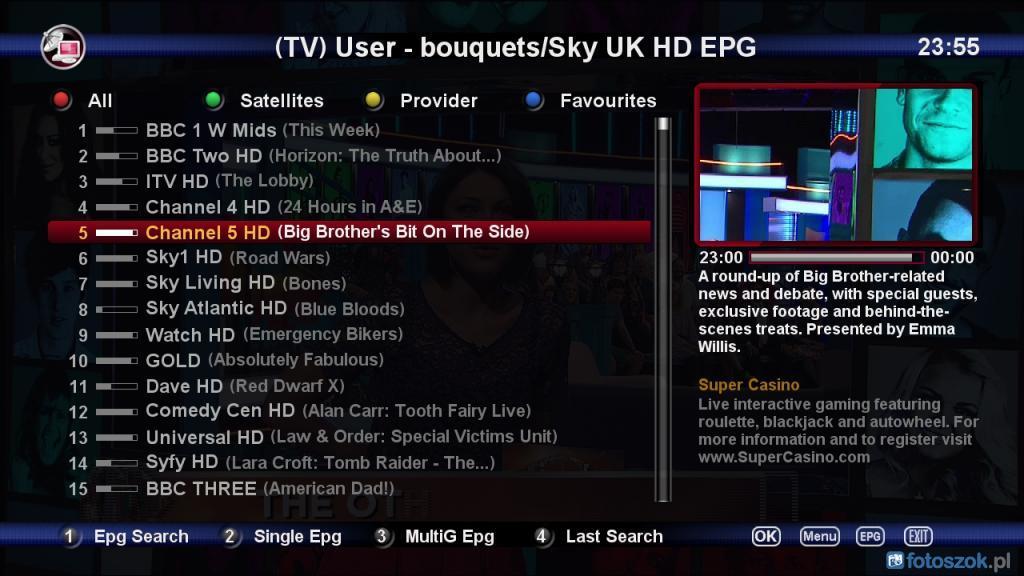 Black Hole 2.0.4 UK Ready VU+Solo2 Backup By Ten Below