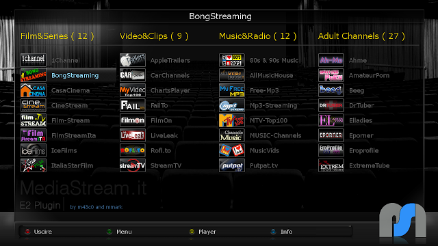 MediaStream beta 0.1 by m43c0 & mmark
