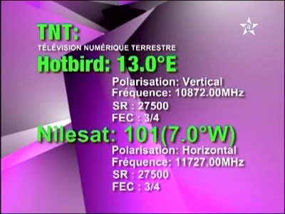 ���� �����  Nilesat 102/201@ 7� West - ���� Arrabiha-�������- ���� ����� (�����)