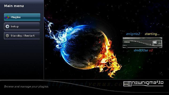 SatVenus Newnigma2-unstable dm800se v2 2013-07-27 OE 2.0 kobra