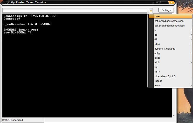 Dreambox OptiFlasher v2.0.0.6 Pro Enigma2 EDition Released