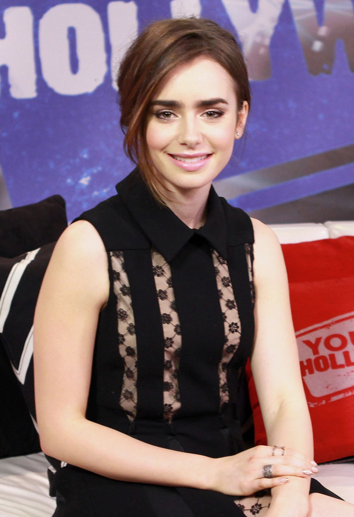 ��� ���� ������ 2014 , lily collins