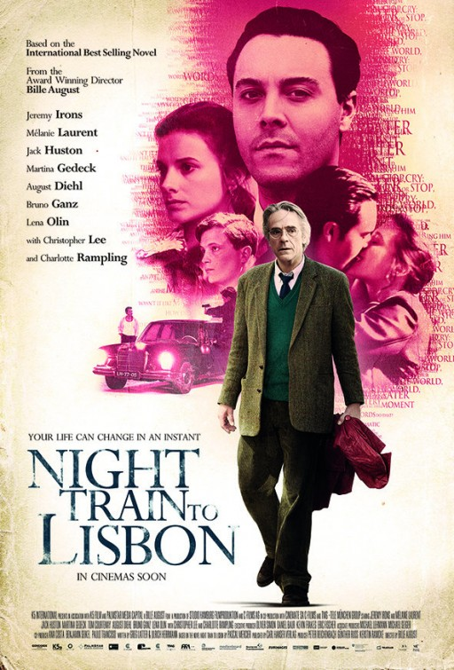 ����� ���� Night Train to Lisbon 2013 posters , Night Train to Lisbon 2013
