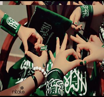 Everyday F خلفيات بنات اليوم الوطني السعودي