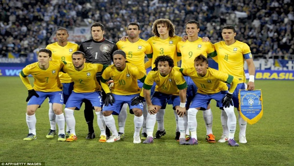 Brazil vs Switzerland 14/8/2013 Friendly