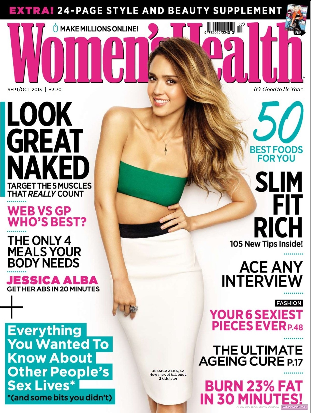 ��� ������ ���� �� Womens Health SEP 2013