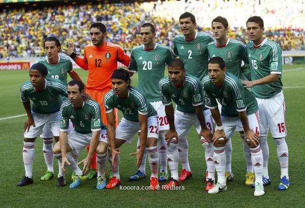 Mexico Vs Ivory Coast 15/8/2013 Friendly