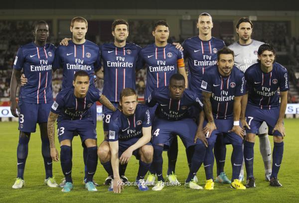 Paris Saint-Germain Vs AC Ajaccio 18/8/2013