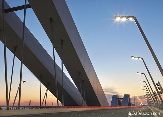 صور جسر الشيخ زايد في ابو ظبي
