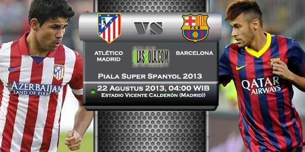 Barcelona vs Atletico Madrid Spain Super Cup supercopa 2113