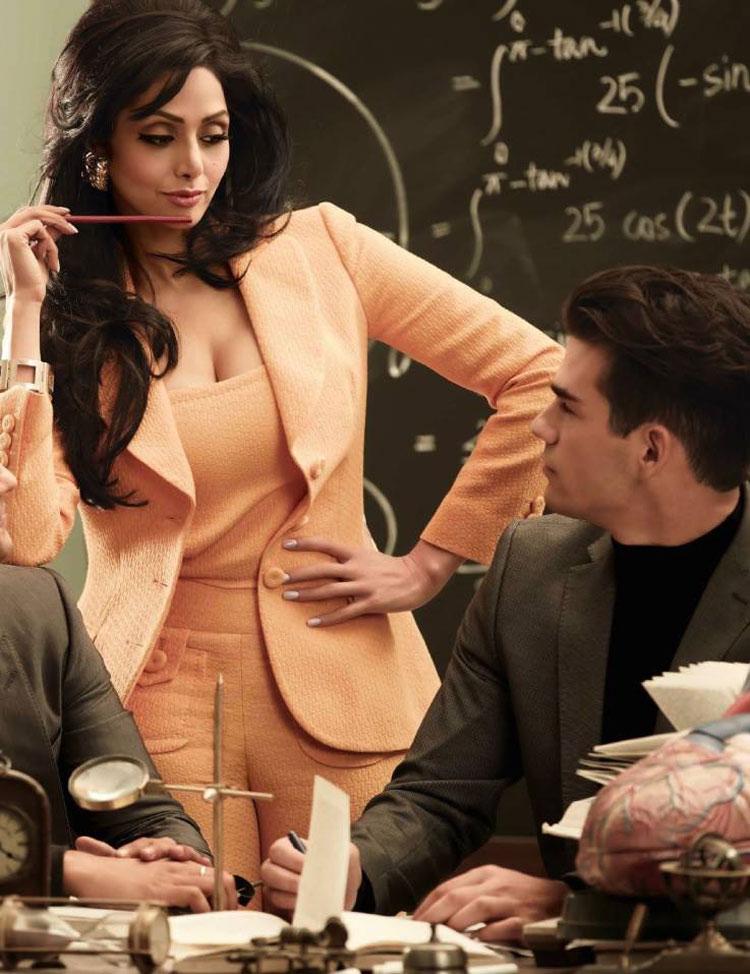 صور سريديفي على غلاف مجلة فوغ Vogue 2013