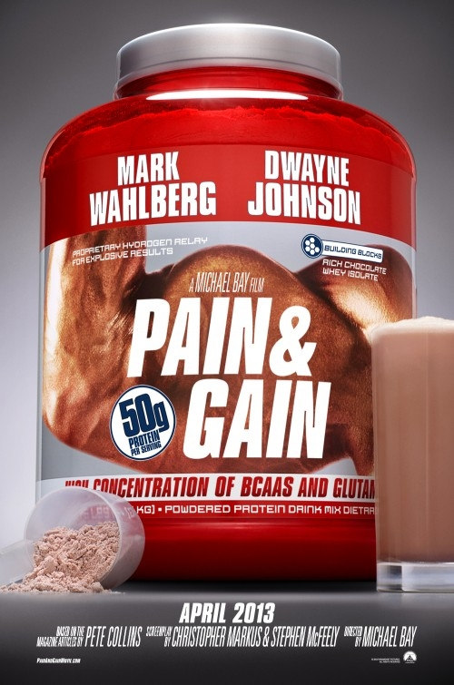 ����� ���� Pain and Gain 2013