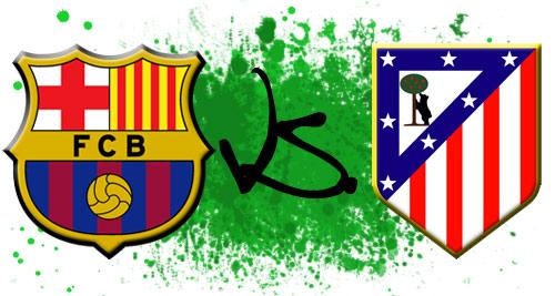 توقيت مباراة برشلونة واتلتيكو مدريد كاس السوبر الاسباني الاربعاء 28-8-2013
