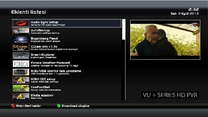 OpenPLi-4.0 Vuduo Back up Memorist 03.09.2013
