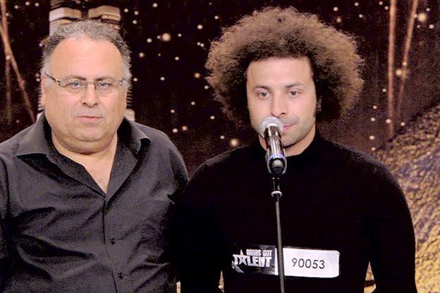 صور نائل الجمال المشترك اللبناني في برنامج عرب غوت تالنت 2013