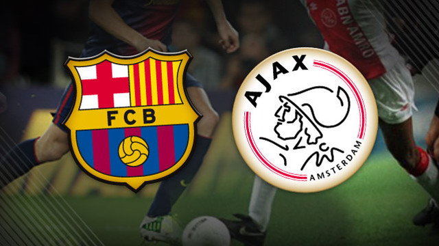 Barcelona vs Ajax 18-9-2013 UEFA Champions League