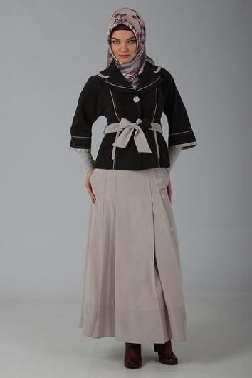 cf7c5365e ازياء محجبات للسهرة 2014 - ملابس عالمية للمحجبات 2014 - ازياء محجبات للنساء  2014