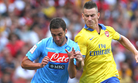 Arsenal vs Napoli 1/10/2013 UEFA