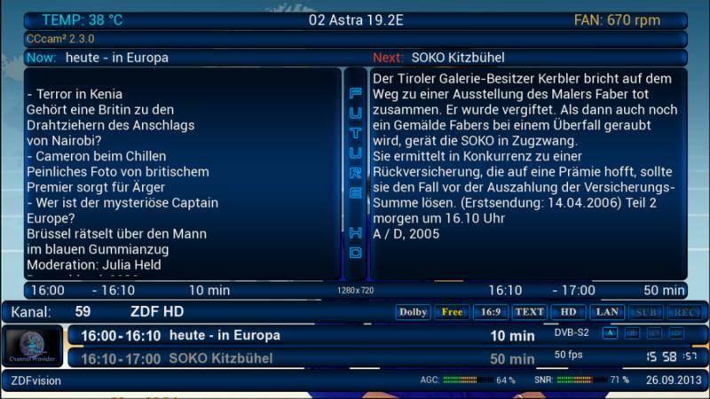 ����� ���� Future HD for VTI
