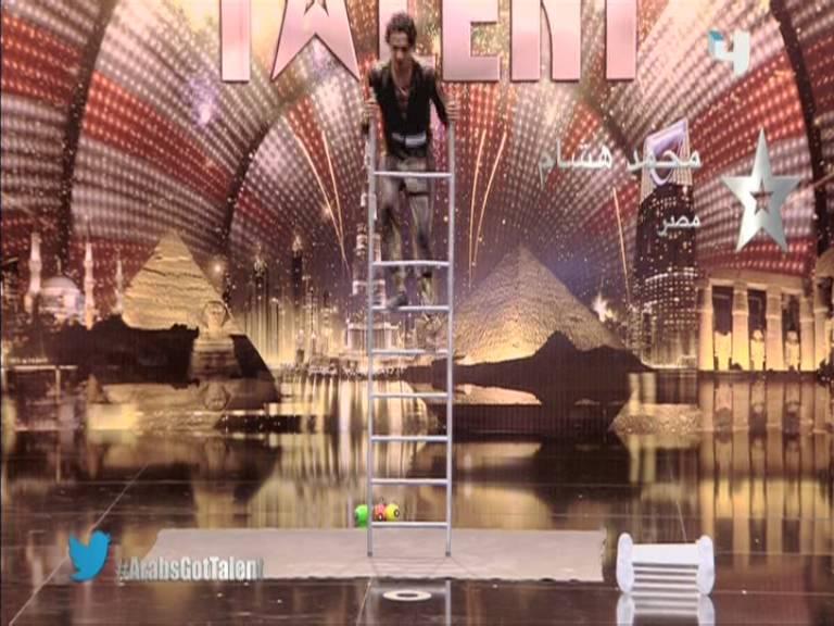 صور محمد هشام مشترك برنامج Arabs Got Talent
