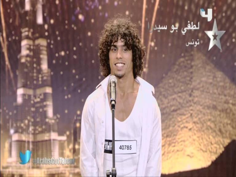 صور لطفي بو سيدرا مشترك برنامج Arabs Got Talent