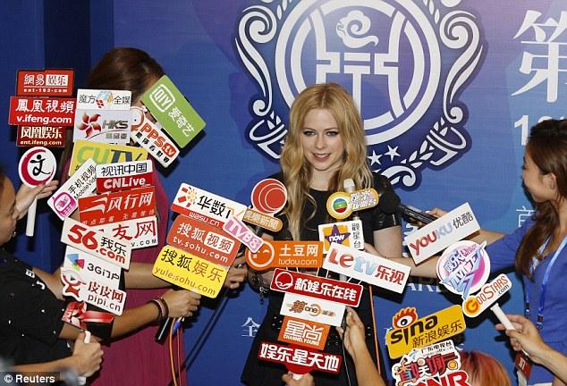 ���� ��� ������ ����� ����� Avril Lavigne 2014