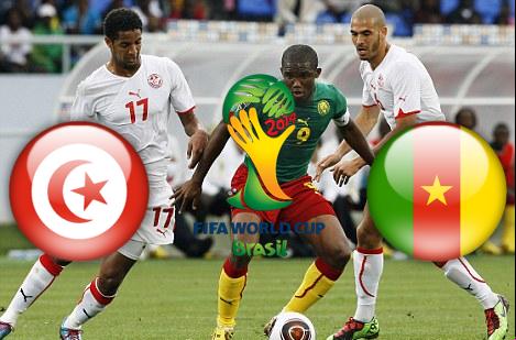 موعد - توقيت مباراة تونس والكاميرون الاحد 13-10-2013 تصفيات كأس العالم 2014