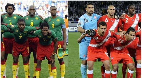 القنوات الناقلة لمباراة تونس والكاميرون الاحد 13-10-2013 تصفيات كأس العالم 2014