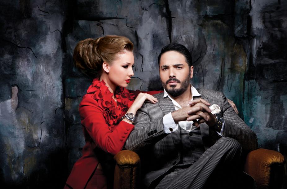 صور رامي عياش في اعلان My Watch على مجلة الشبكة