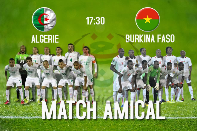 Algérie vs Burkina Faso 12-10-2013 les qualifications de la coupe du monde 2014