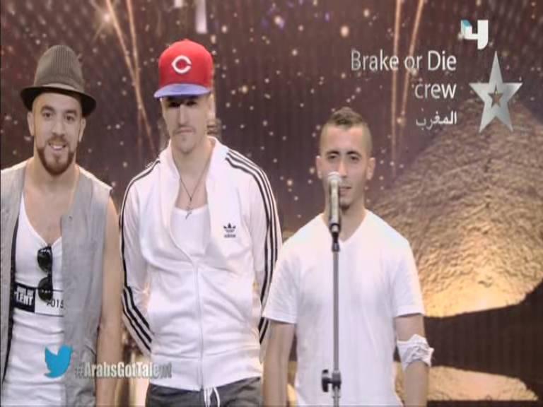 ��� ���� Brake or Die crew �� ������ Arabs Got Talent