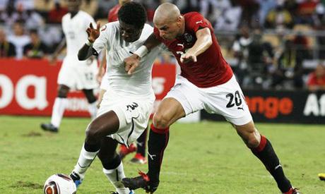 Egypte vs Ghana 15-10-2013 Coupe du Monde 2014