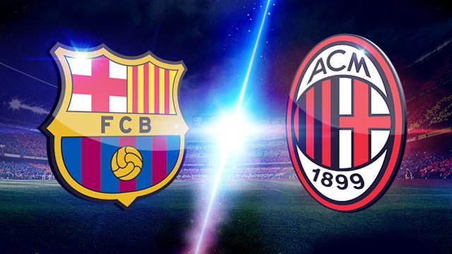 FC Barcelona vs AC Milan mardi 22-10-2013 Ligue des Champions