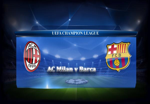 FC Barcelona vs AC Milan 22-10-2013 Champions League