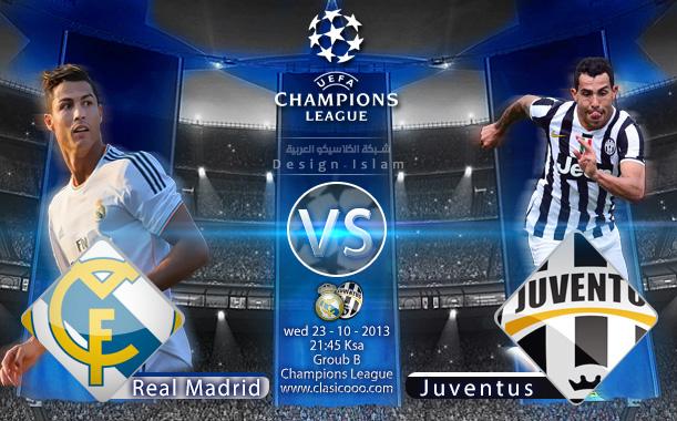 Juventus vs Real Madrid 23-10-2013 Ligue des Champions